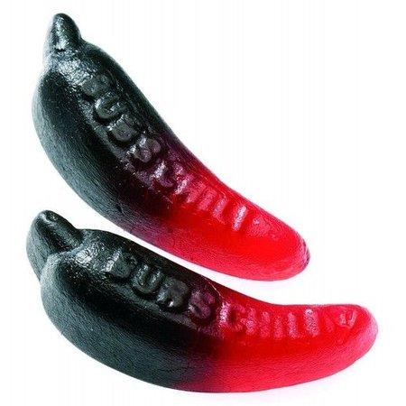 Bubs Bubs - Godis Zweedse Rode Chili/Röd Chili* 1 Kilo