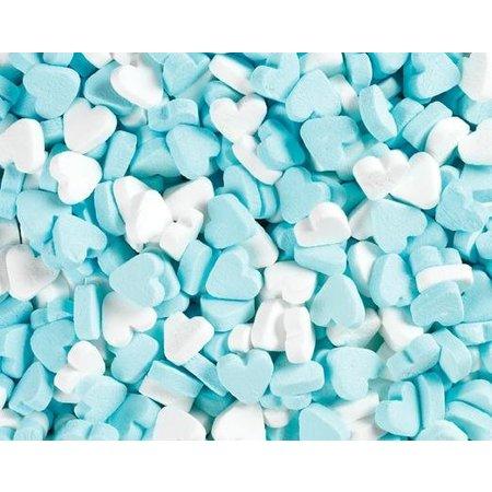 Fortuin Fortuin - Wit Blauwe Pepermunt Hartjes 250 Gram