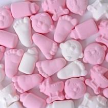 Matthijs - Baby Foam Snoep Mix Roze 200 Gram