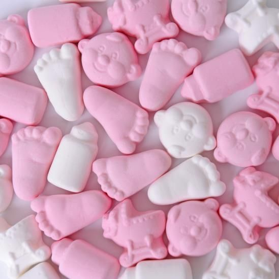 Matthijs Matthijs - Baby Foam Snoep Mix Roze 200 Gram