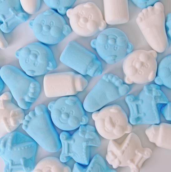 Matthijs Matthijs - Baby Foam Snoep Mix Blauw 200 Gram