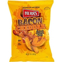 Herr's Bacon Cheddar Cheese Curls 199 Gram