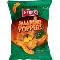 Herr's Jalapeno Poppers Cheese Curls 199 Gram