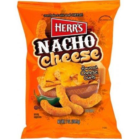 Herrs Herr's Nacho Cheese Curls 199 Gram
