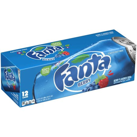 Fanta Fanta - Berry 355ml 12 Blikjes