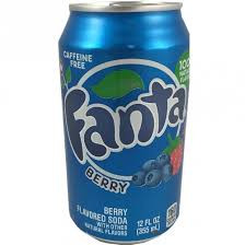 Fanta Fanta - Berry 355ml