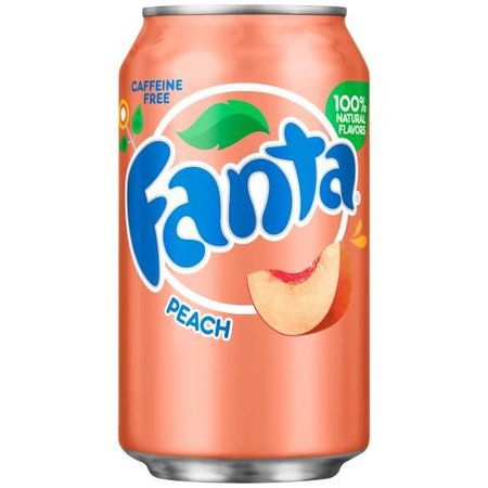 Fanta Fanta - Peach 355ml