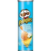 Pringles Cheddar & Sour Cream 168 Gram
