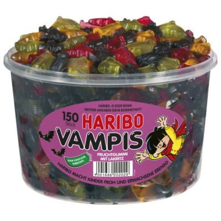 Haribo Haribo Silo Vampier Winegums 150 Stuks (import)