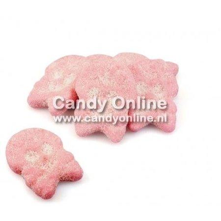 Bubs Bubs - Foam Raspberry Skulls 1 Kilo