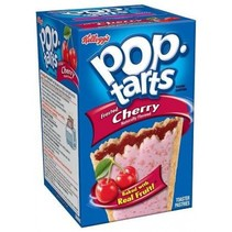 Kellogg's PopTarts Frosted Cherry 416 Gram