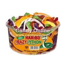 Haribo Silo Crazy Python 150 Stuks 1050 Gram (import)