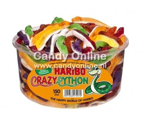 Haribo Haribo Silo Crazy Python 150 Stuks 1050 Gram (import)