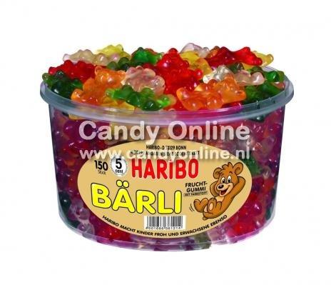 Haribo Haribo Silo Bärli 1200 Gram 150 Stuks (import)
