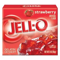 Jell-O - Strawberry Gelatin 85 Gram