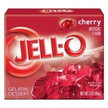 Jell-O - Cherry Gelatin 85 Gram