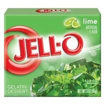 Jell-O - Lime Gelatin 85 Gram