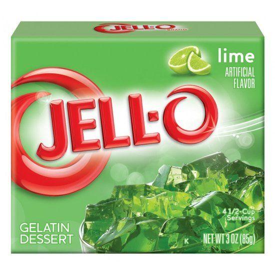 Jell O Jell O Lime Gelatin 85 Gram