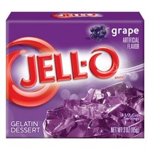 Jell-O - Grape Gelatin 85 Gram