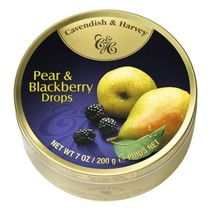 Cavendish & Harvey Pear & Blackberry Drops 200 Gram