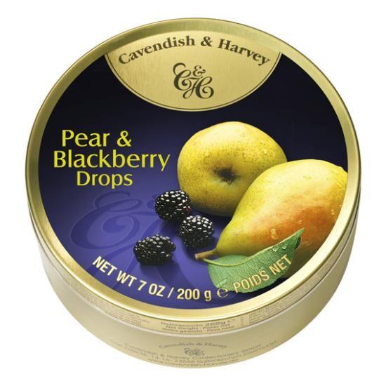 Cavendish & Harvey Cavendish & Harvey Pear & Blackberry Drops 200 Gram
