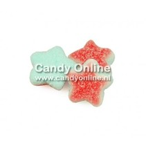 Joepie - Triple Cream Cherry Stars 250 Gram