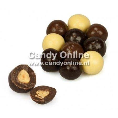 Overige Choco Hazelnoten Mix 200 Gram