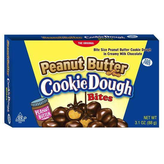 Cookie Dough Cookie Dough Bites Peanut Butter Theatre Box 88 Gram