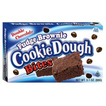 Cookie Dough Bites Fudge Brownie Theatre Box 88 Gram