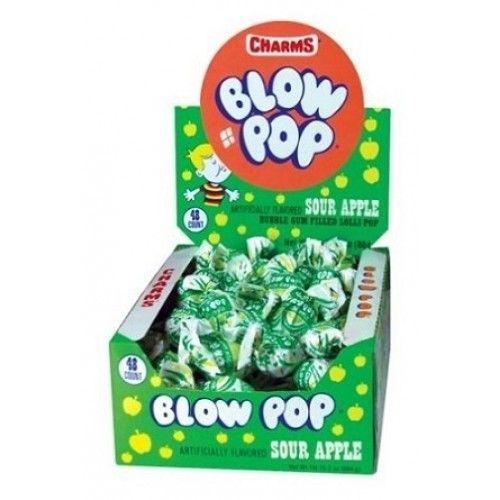 Charms Charms Blow Pop - Sour Apple