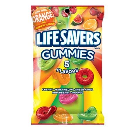 Lifesavers Lifesavers Gummies 5 Flavours Peg Bag 198 Gram