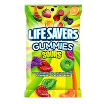 Lifesavers Gummies Sour Peg Bag 198 Gram