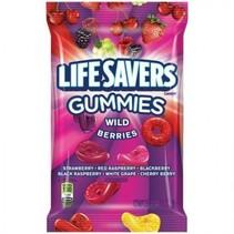 Lifesavers Gummies Wild Berries Peg Bag 198 Gram