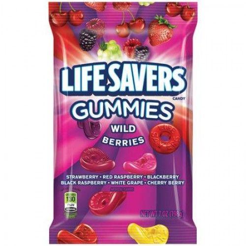 Lifesavers Lifesavers Gummies Wild Berries Peg Bag 198 Gram