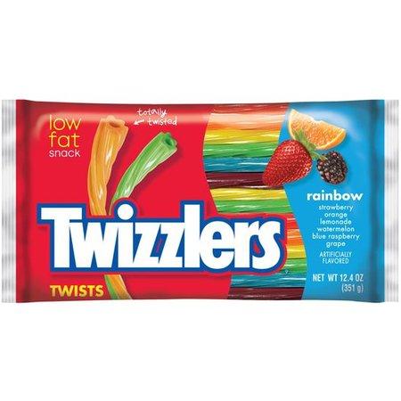 Twizzlers Twizzlers - Rainbow Twist Big Bag 351 Gram