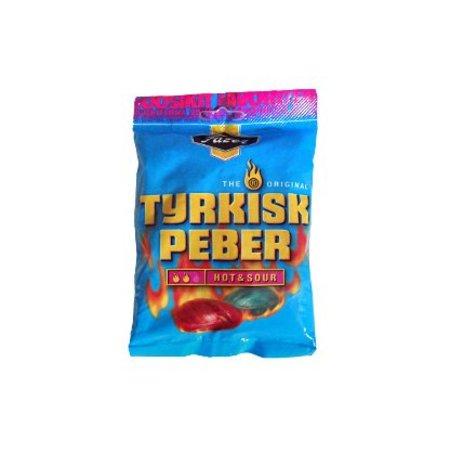 Fazer Fazer - Tyrkisk Peber Hot & Sour 150 Gram