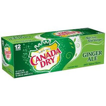 Canada Dry Ginger Ale 355ml 12-Pack