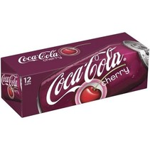 Coca Cola Cherry 355ml 12 Blikjes