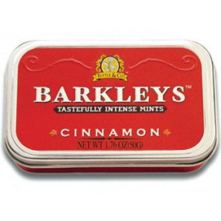 Barkleys Barkleys Tin Cinnamon 50 Gram