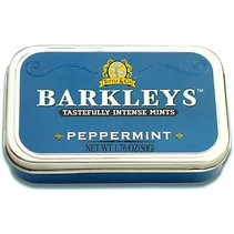 Barkleys Tin Peppermint 50 Gram