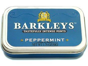 Barkleys Barkleys Tin Peppermint 50 Gram