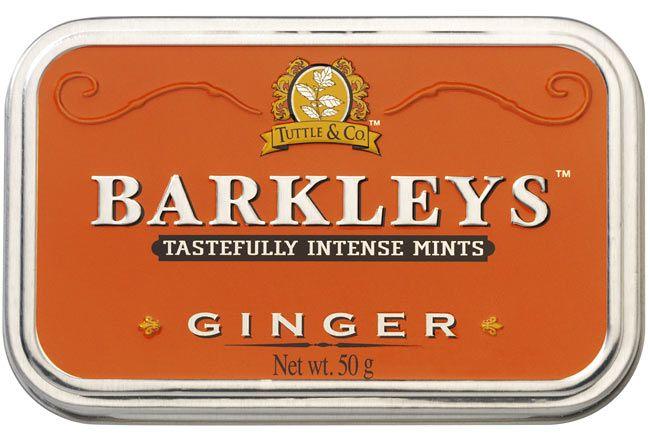 Barkleys Barkleys Tin Ginger 50 Gram