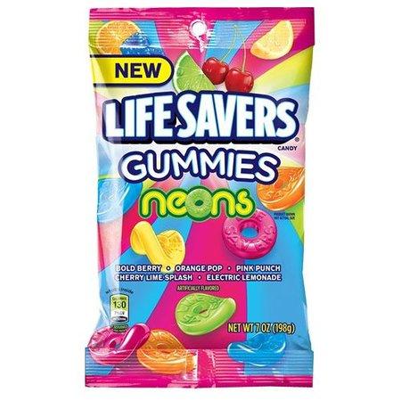 Lifesavers Lifesavers - Gummies Neons 198 Gram