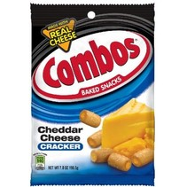 Combos Cheddar Cheese Cracker 198 Gram