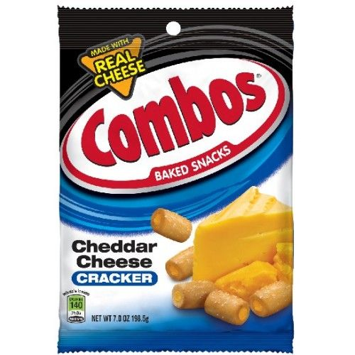 Combos Combos Cheddar Cheese Cracker 198 Gram