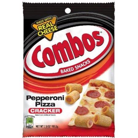 Combos Combos Pepperoni Pizza Cracker 178 Gram