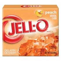 Jell-O - Peach Gelatin 85 Gram