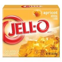 Jell-O - Apricot Gelatin 85 Gram
