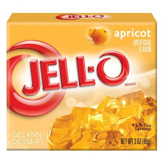 Jell-O Jell-O - Apricot Gelatin 85 Gram