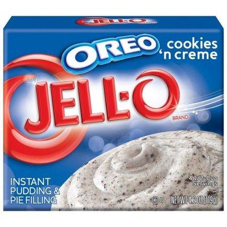 Jell-O Jell-O - Oreo Cookies 'N Creme 119 Gram